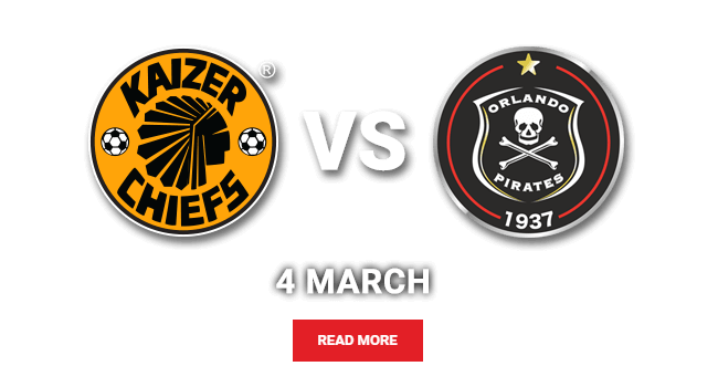 Absa Premiership: Kaizer Chiefs vs Orlando Pirates