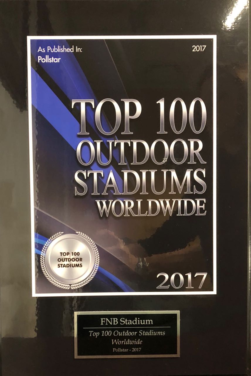 Pollstar Top 100 Stadiums Worldwide