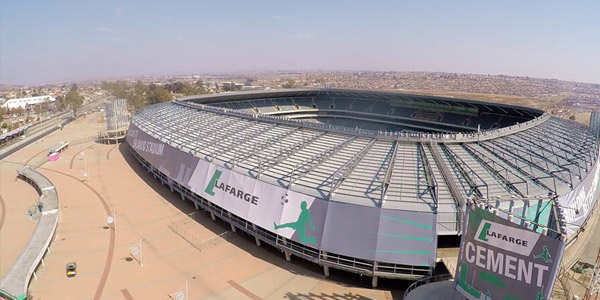 Orlando Stadium sponsored by Lafarge