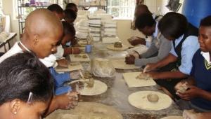 Schools 2014 Pottery Class