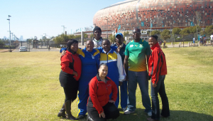 Training session for the Winnie Madikizela Mandela School