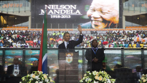 Nelson Mandela National Memorial Service