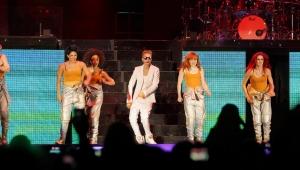 Justin Bieber at the FNB Stadium