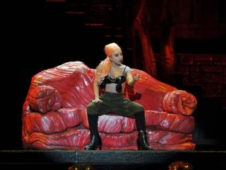 Lady Gaga at the FNB Stadium