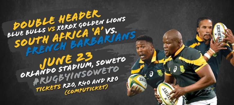 Plenty of activities ahead of the Orlando Stadium rugby double header