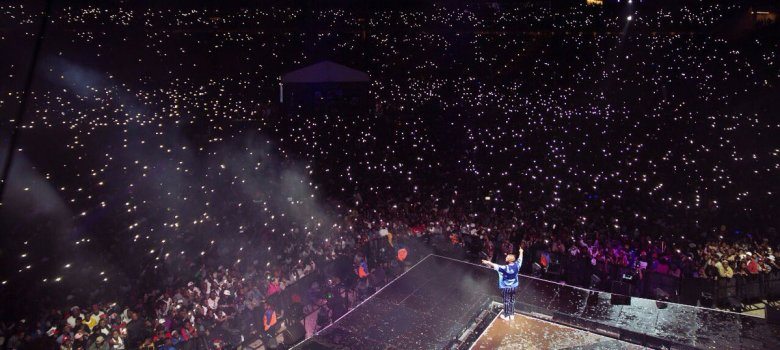 Rapper makes history with sold out tickets at FNB concert