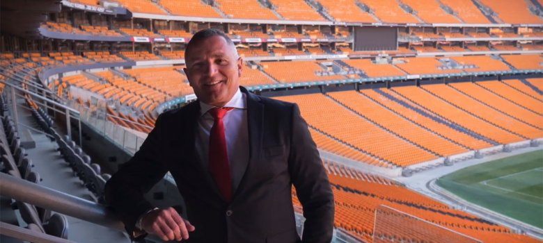 Stadium Management SA's Jacques Grobbelaar