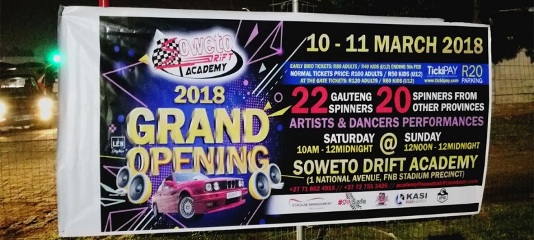 2018 Grand Opening of the Soweto Drift Academy