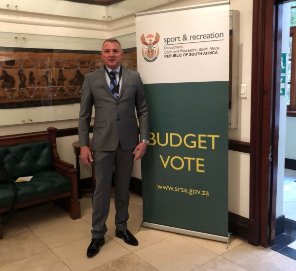 Dr Jacques Grobbelaar at the 2018 Budget Vote Speech