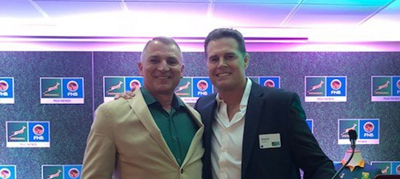 SA Rugby breakfast for Rassie Erasmus