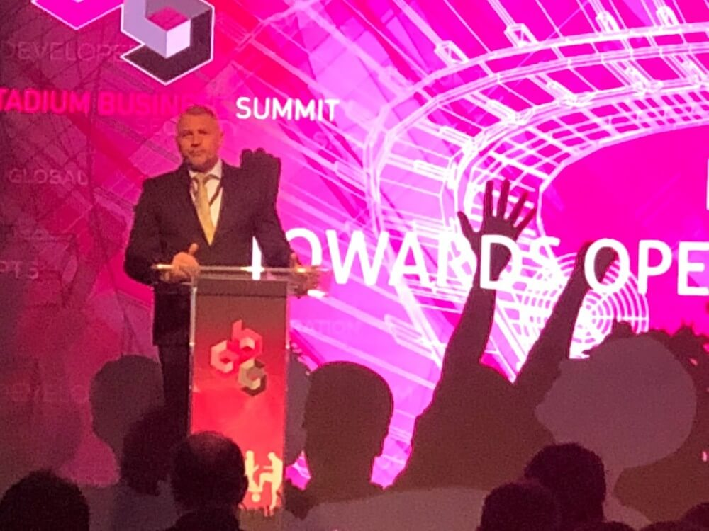 Dr. Jacques Grobbelaar's trip to Manchester for the TheStadiumBusiness Summit
