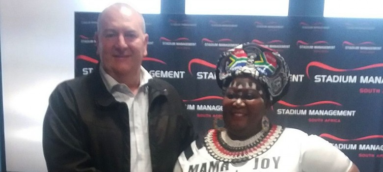 Stadium Management SA brings fans to the party