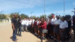 Riverlea School tours the FNB Stadium